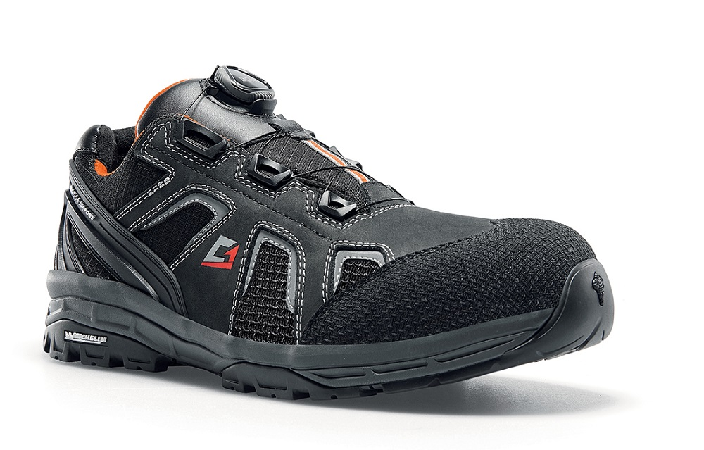 GRAVEL LOW S3 SAFETY WORK SHOE with BOA